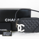 CHANEL /カンボンライン ハンドバッグ