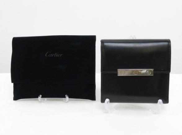 Cartier/LOVE 二つ折り財布